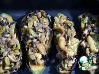 Фаршированные баклажаны под хрустящей хлебной корочкой ингредиенты