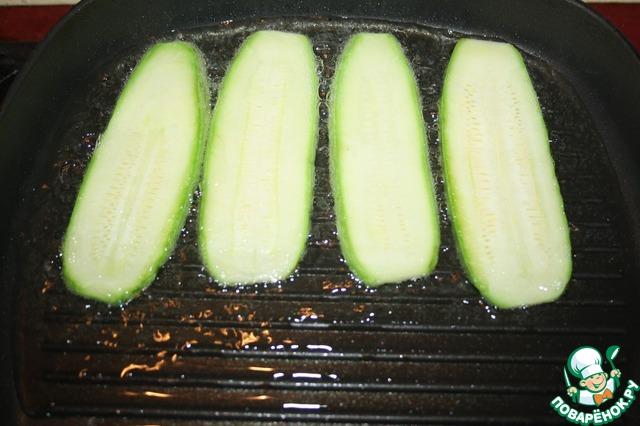 Кабачки-завитушки на шпинатной подушке простой рецепт с фото пошагово #5