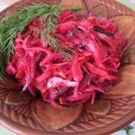 Русский салат на корейский лад