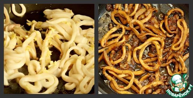 Плов с кальмарами рецепт приготовления с фотографиями пошагово как приготовить #2