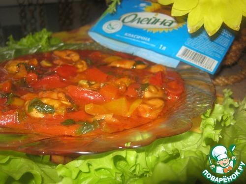 """Готовим Закуска """"Красное море"""" рецепт с фото пошагово #10"""