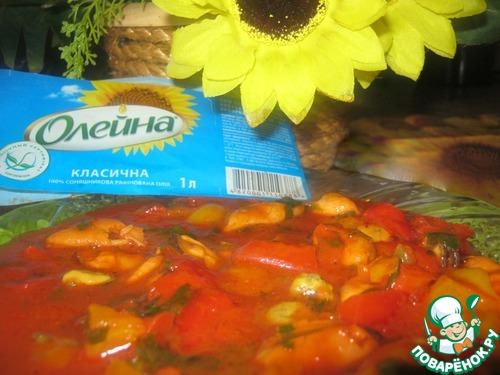 """Готовим Закуска """"Красное море"""" рецепт с фото пошагово #11"""