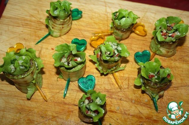 Кабачки-завитушки на шпинатной подушке простой рецепт с фото пошагово #8