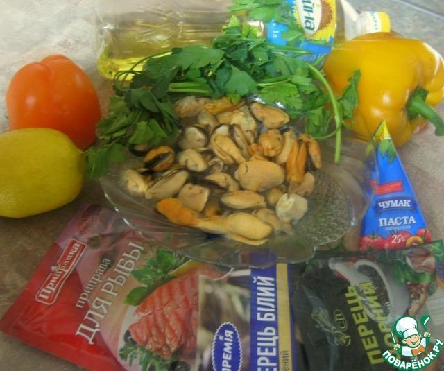 """Готовим Закуска """"Красное море"""" рецепт с фото пошагово #1"""