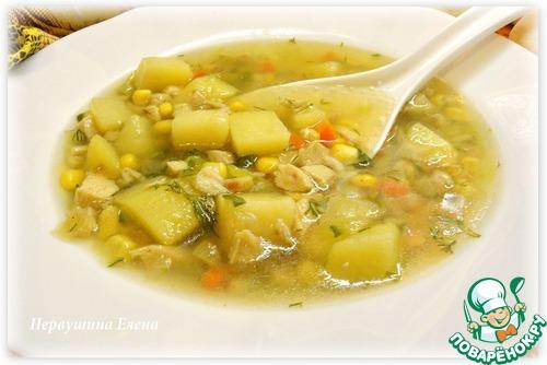 Суп копченый с овощами домашний рецепт с фотографиями как готовить #12