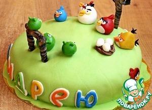 Рецепт Торт на день рождения