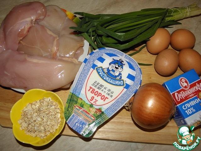 Куриный пирог-запеканка рецепт с фото пошагово #1