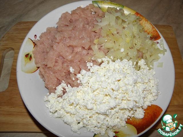 Куриный пирог-запеканка рецепт с фото пошагово #4