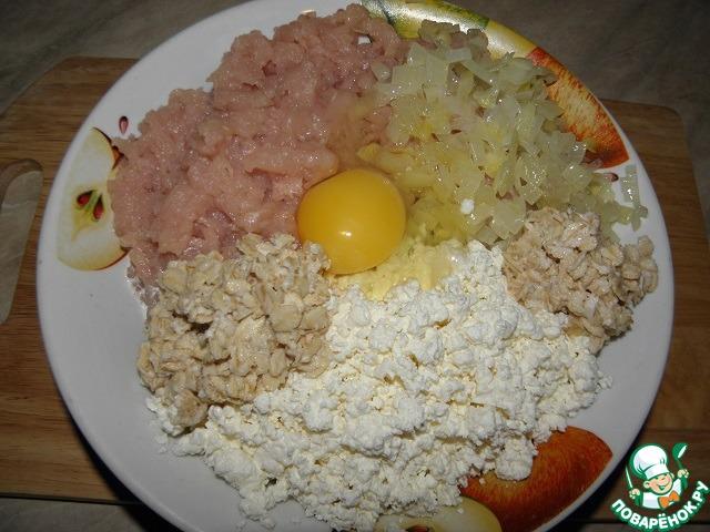 Куриный пирог-запеканка рецепт с фото пошагово #5