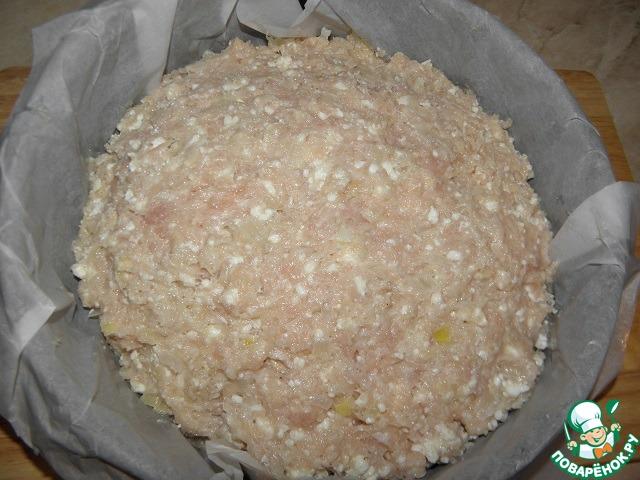 Куриный пирог-запеканка рецепт с фото пошагово #8