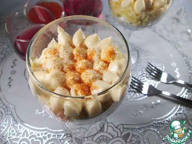 Готовим Салат с пшеном, курицей и яблоками вкусный пошаговый рецепт с фото #7