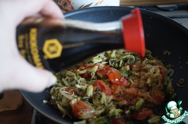Паста с брокколи и грецким орехом рецепт с фото пошагово как приготовить #9