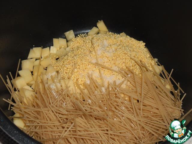 Как готовить Полевая каша вкусный рецепт приготовления с фотографиями пошагово #3