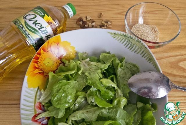 Салат из запеченной свеклы с брынзой простой рецепт с фото пошагово как приготовить #4