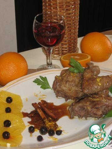 Утка в апельсиновом соусе с корицей вкусный рецепт с фотографиями пошагово #6