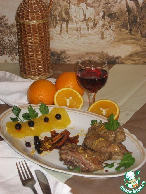 Утка в апельсиновом соусе с корицей вкусный рецепт с фотографиями пошагово #9