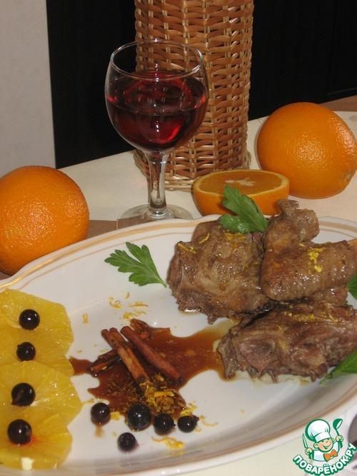 Утка в апельсиновом соусе с корицей вкусный рецепт с фотографиями пошагово #7