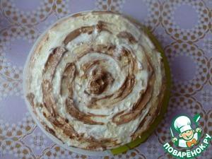 Рецепт Мраморный бисквит