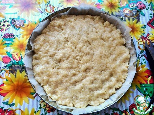 Тёртый пирог с вареньем из киви вкусный рецепт приготовления с фото пошагово #4