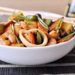 Тофу с морепродуктами по-китайски