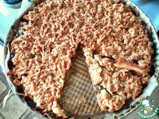 Тёртый пирог с вареньем из киви вкусный рецепт приготовления с фото пошагово #7