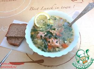 Как готовить вкусный рецепт с фото Суп с форелью