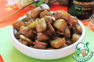 Рецепт Адобо из баклажанов