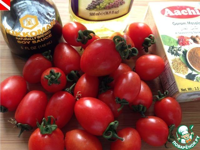 Как готовить Маринованные помидорки черри домашний рецепт приготовления с фото #1