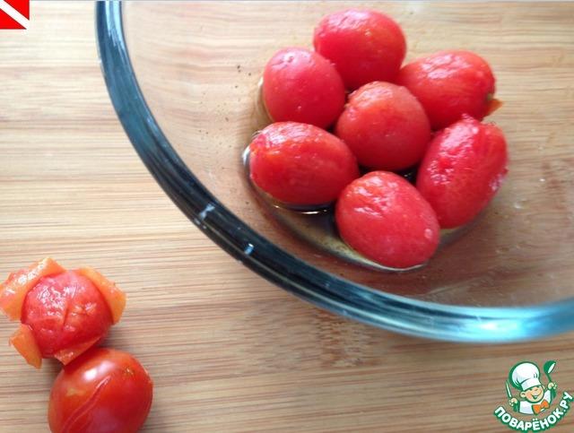 Как готовить Маринованные помидорки черри домашний рецепт приготовления с фото #8