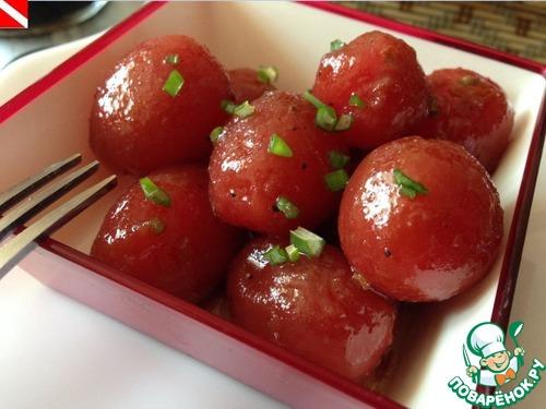 Как готовить Маринованные помидорки черри домашний рецепт приготовления с фото #10