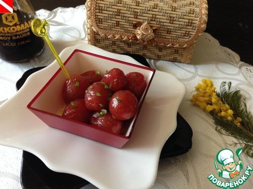 Как готовить Маринованные помидорки черри домашний рецепт приготовления с фото #11