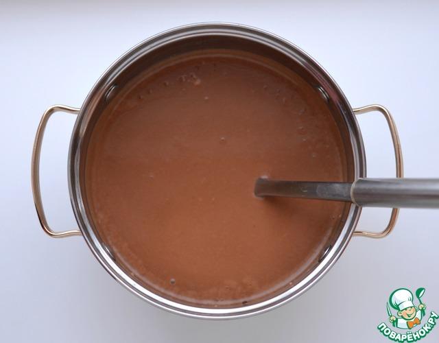 Как приготовить Тоненькие шоколадные блинчики вкусный рецепт с фотографиями #6