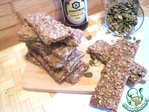 Хлебцы мультизерновые постные простой рецепт приготовления с фотографиями пошагово #7