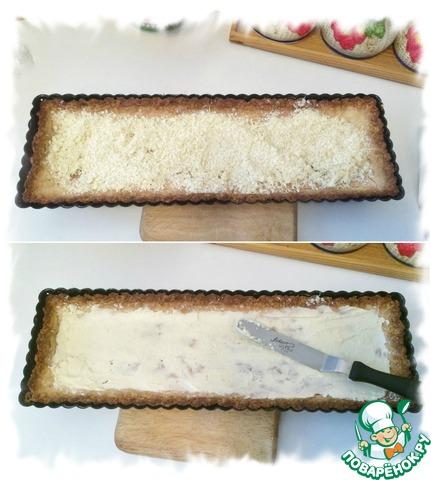 Готовим Матча-малиновый тарт домашний пошаговый рецепт с фото #8
