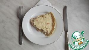 Рецепт Заливной пирог с рисом и кальмарами