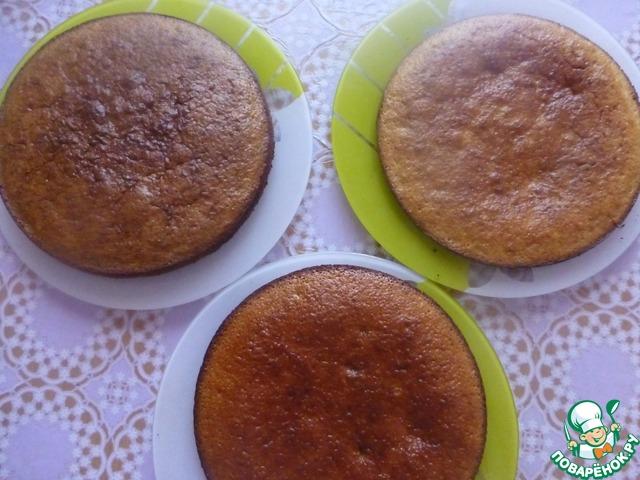 """Торт """"Елена"""" вкусный пошаговый рецепт с фото как готовить #5"""
