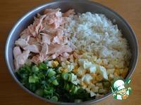 Рыбный пирог с рисом ингредиенты