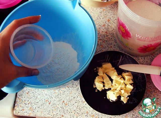 Готовим вкусный рецепт приготовления с фотографиями Сладкие тарталетки с повидлом и меренгой #2
