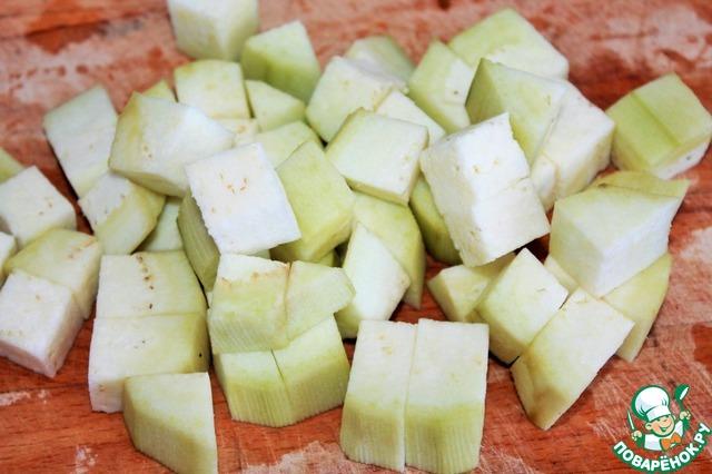 Готовим рецепт приготовления с фотографиями Адобо из баклажанов #2