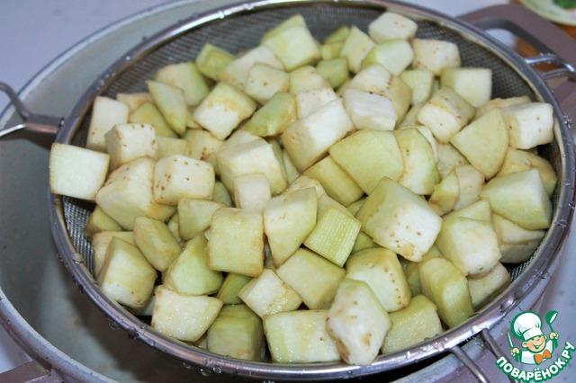 Готовим рецепт приготовления с фотографиями Адобо из баклажанов #4