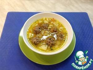 Суп с фрикадельками в мультиварке вкусный рецепт с фото как готовить