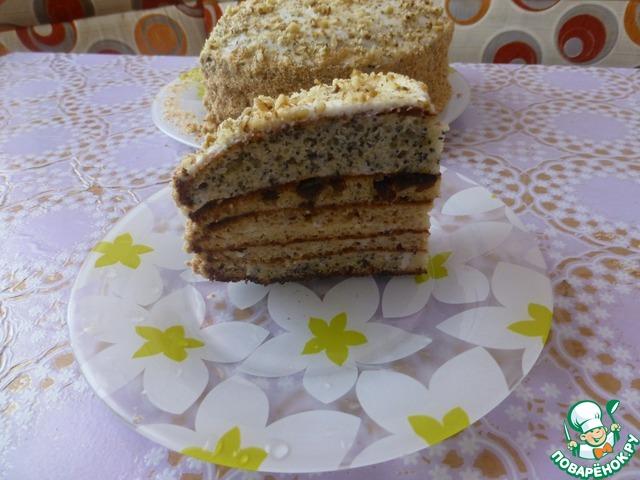 """Торт """"Елена"""" вкусный пошаговый рецепт с фото как готовить #8"""