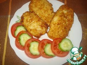 Рецепт Куриная грудка в панировке из сушек