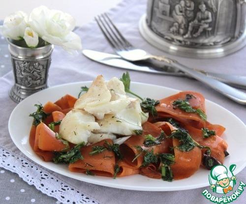 Теплый салат с филе трески домашний рецепт с фото как готовить #12
