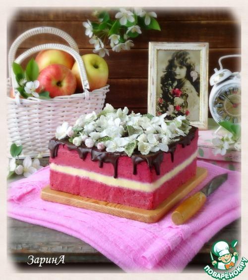 "Готовим рецепт с фото Торт ""Дивный сад"" #19"
