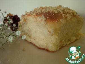 Рецепт с фотографиями Сдобные булочки с кремом на закваске