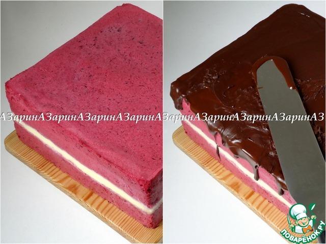 "Готовим рецепт с фото Торт ""Дивный сад"" #17"
