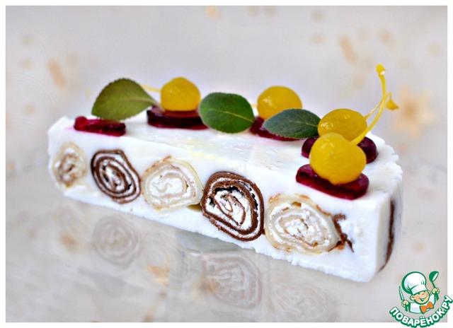 Как приготовить Блинный десерт с кремом из маскарпоне домашний рецепт приготовления с фотографиями #12