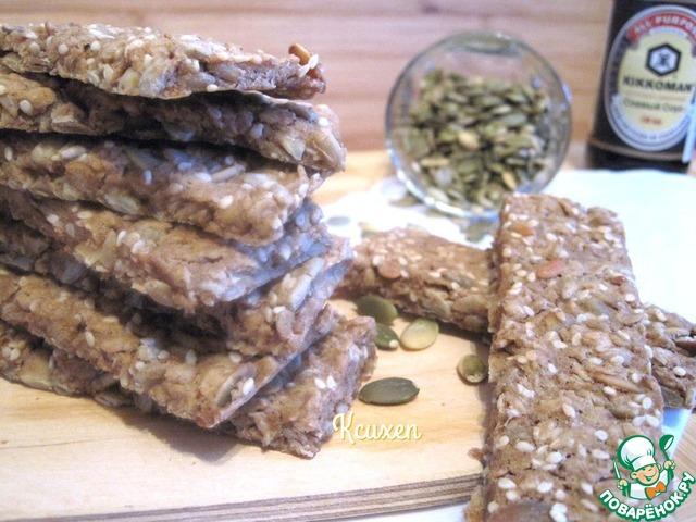 Хлебцы мультизерновые постные простой рецепт приготовления с фотографиями пошагово #4