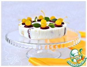 Рецепт Блинный десерт с кремом из маскарпоне